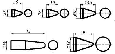 Буж-веноэкстрактор микрохирургический в комлекте с 5 сменными насадками (по Набатову)