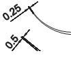 Крючок микрохирургический (по Варади)